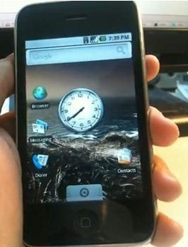 Android for iPhone 3G