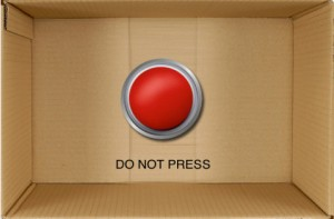 dont press red button iPhone app
