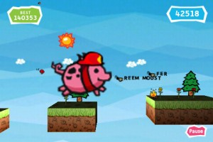 Pig rush for iPhone