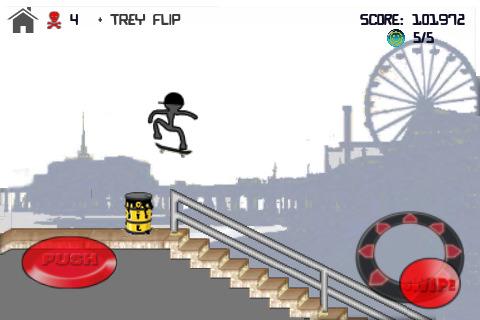 Stick skate app review