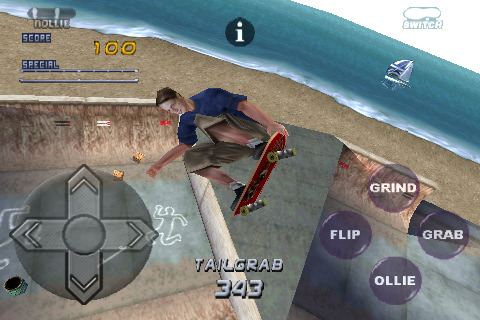 Tony Hawk Skater 2 for iPhone