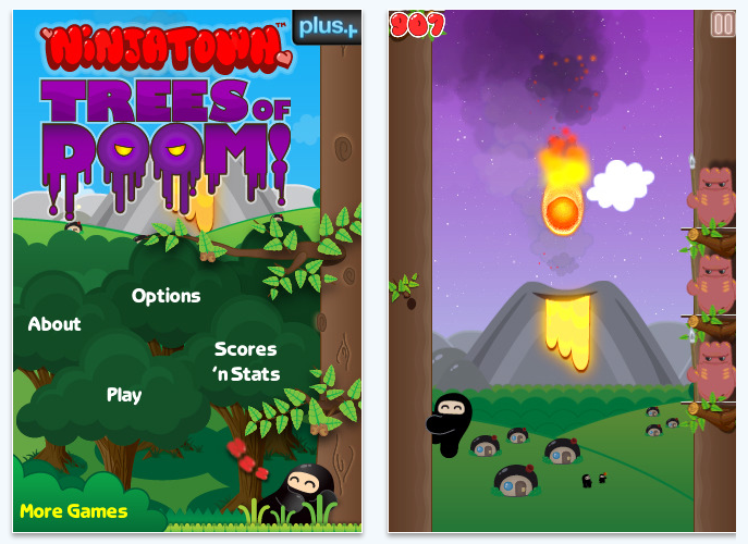 Ninjatown game for iPhone