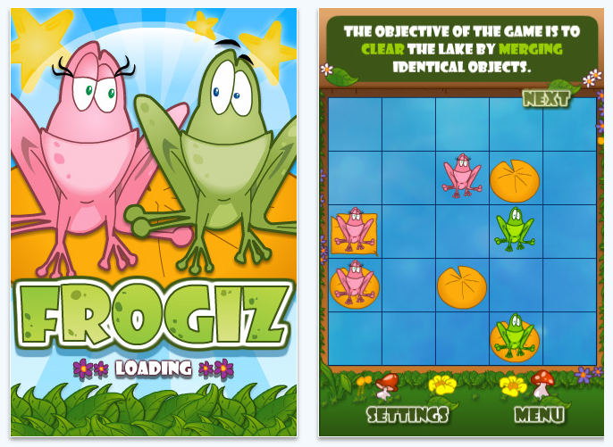 frogiz for iPhone