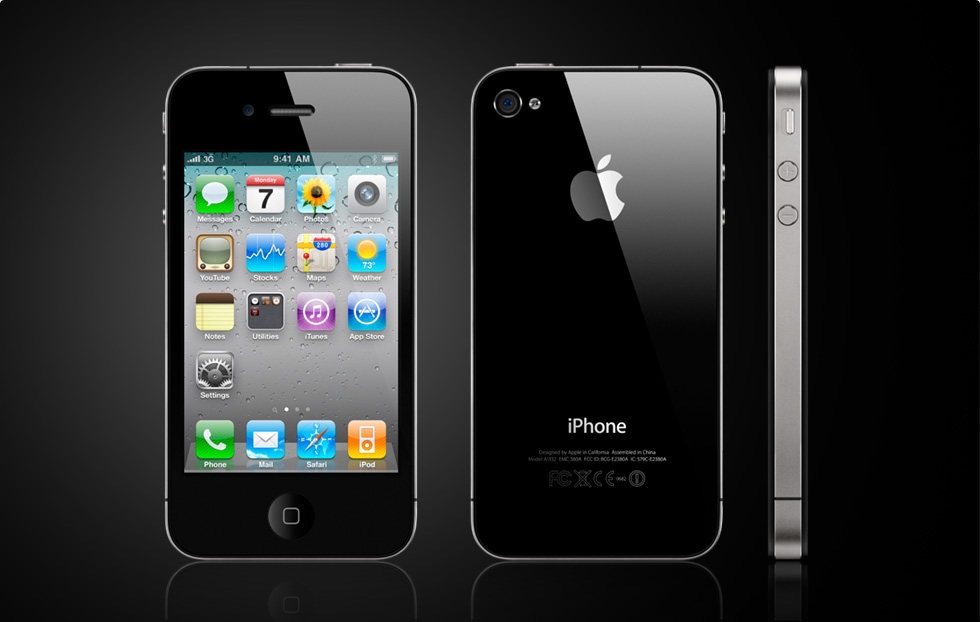 Apple officially announced iPhone 4