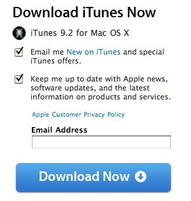 Apple released iTunes 9.2