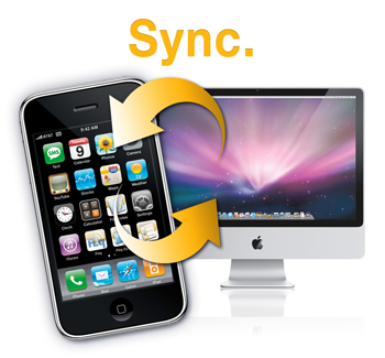 Wifi Sync app for iPhone