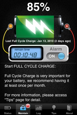 Battery Doctor Pro iPhone app