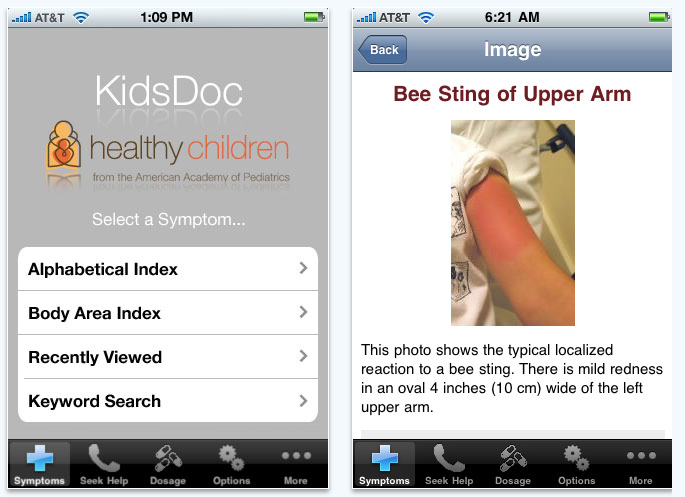 KidsDoc for the iPhone