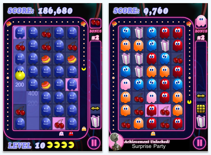 pacman party iPhone app