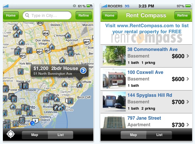 redcompass iPhone app