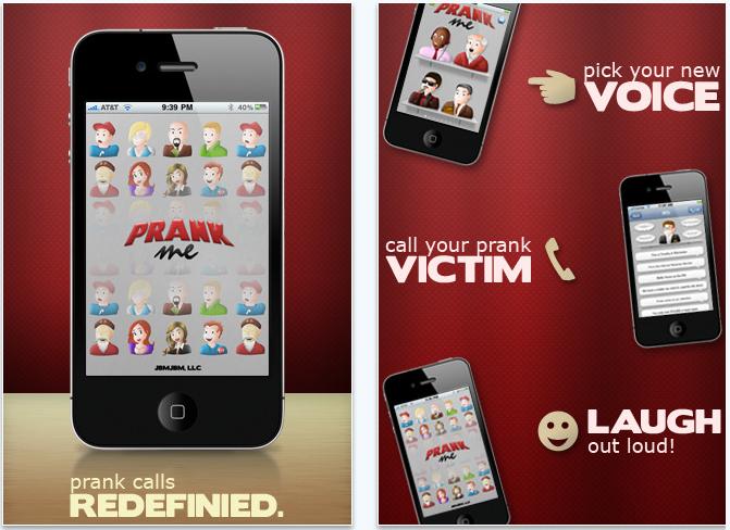 prank me iPhone app