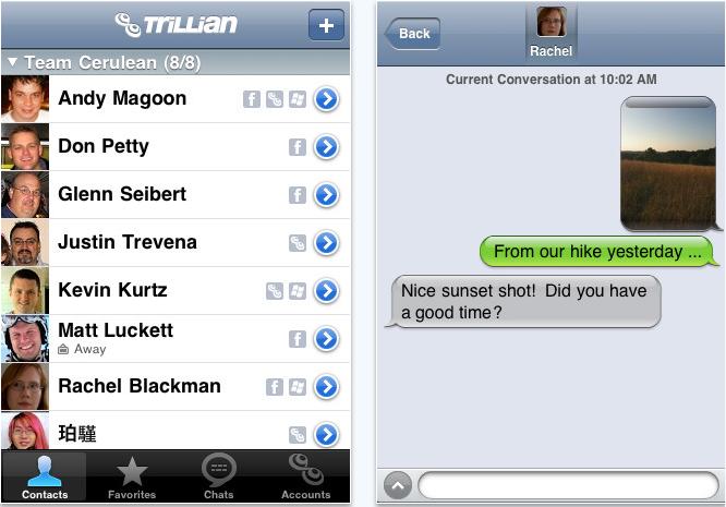 trillian iPhone app review