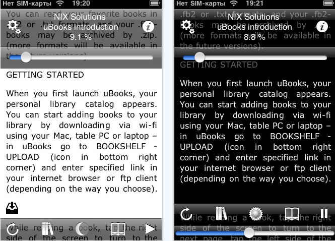 uBooks xl for iPhone review