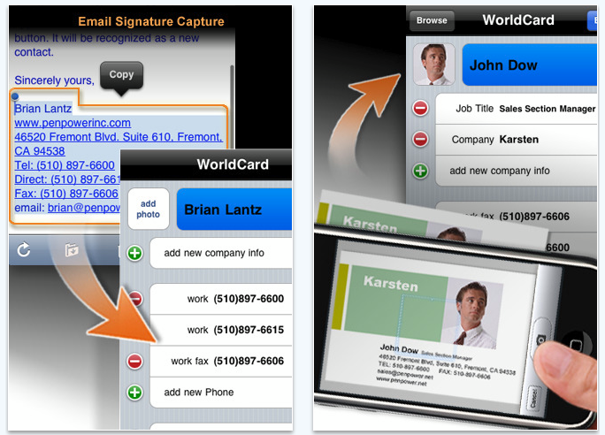 world card mobile iPhone app review