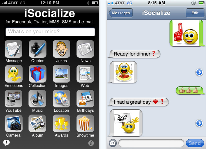 iSocialize iPhone app review
