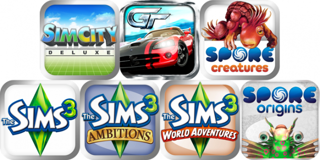EA and Gameloft games price drop