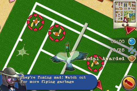 pigeon squadron iPhone app review