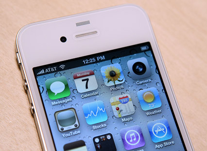 white iPhone 4 delayed