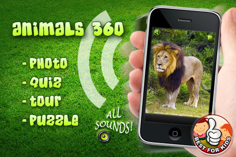 animal 360 iphone app review