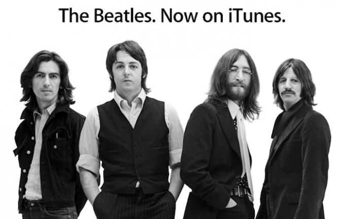 beatles on iTunes