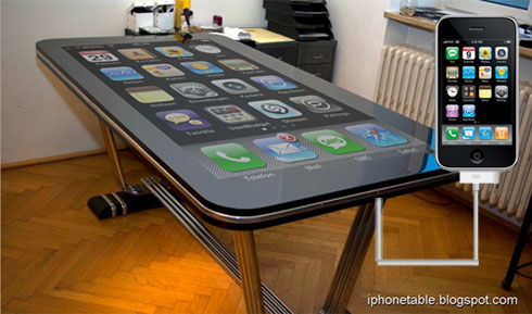 iphone table