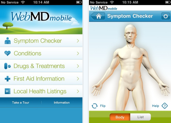 WebMD iphone app review