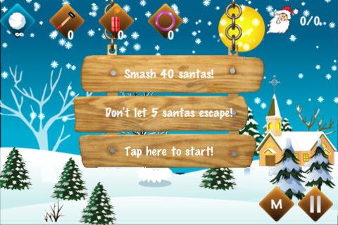 santa slap iPhone app review