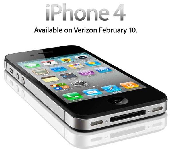 Verizon iPhone 4 pre-orders