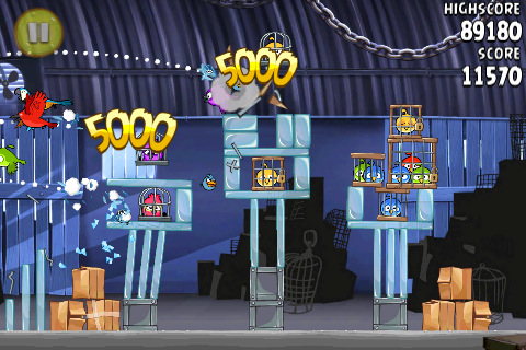 Angry Birds Rio in app store