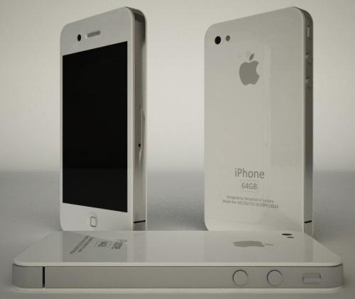 white-apple-iphone-4