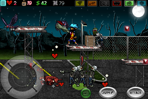 Ghost Ninja: Zombie Beatdown for iPhone