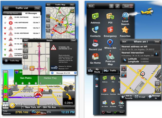 Gogo Navigator Live Traffic