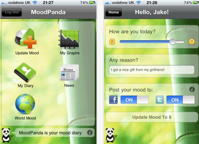 MoodPanda App