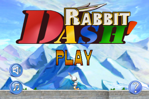 RabbitDash App Screenshot