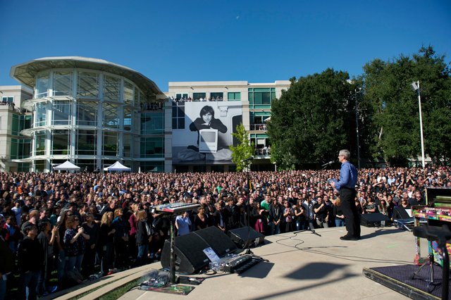 Apple Celebrates Steve's Life