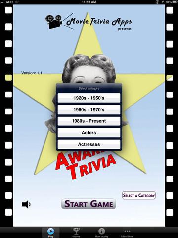 Movie Awards Trivia