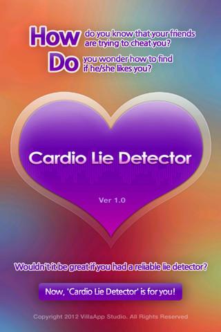 Cardio-Lie-Detector