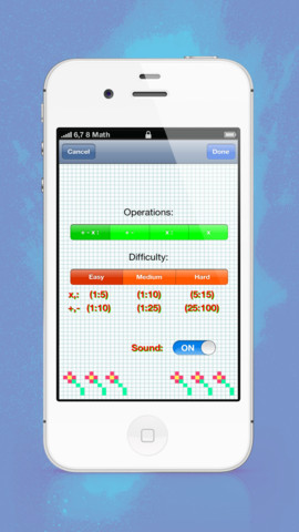 Mathematics iPhone app