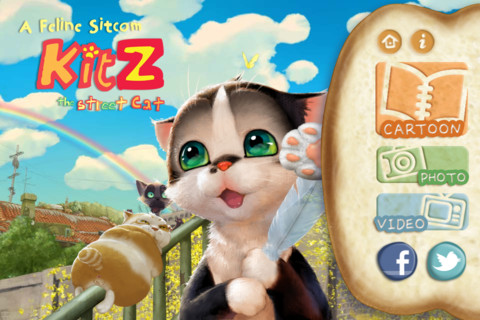 Kitz The Street Cat - iPhone App