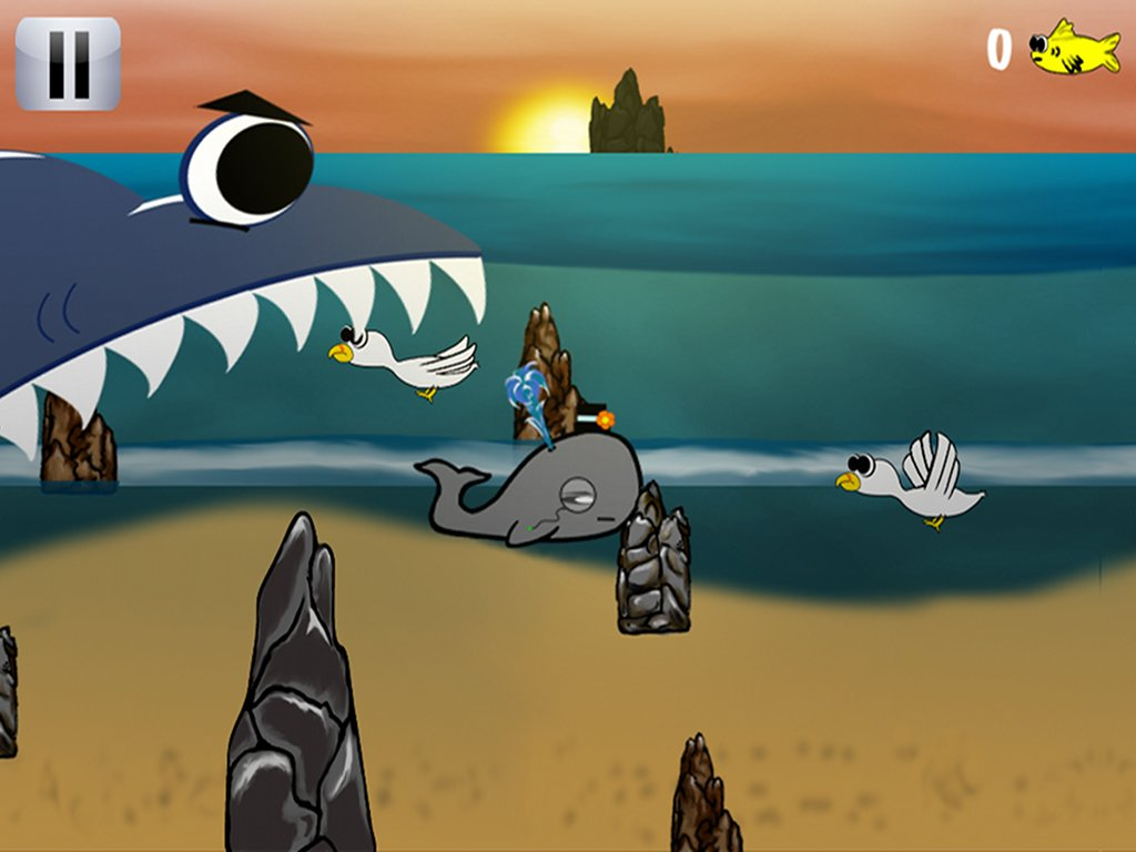 BlueWhale - 2D Action Game
