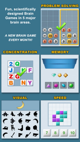 Fit Brain Trainer for iPhone