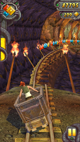 Temple Run 2 Launch