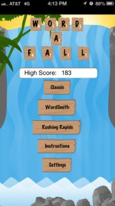 Word-A-Fall