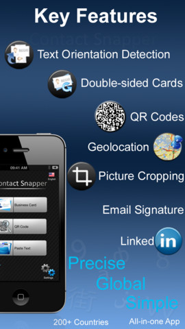 Business Card Scanner - Contact Snapper