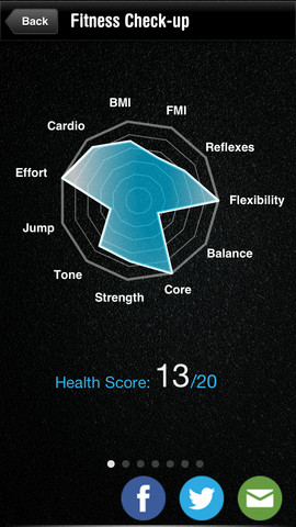 Fitness Checkup Pro-Exercise app