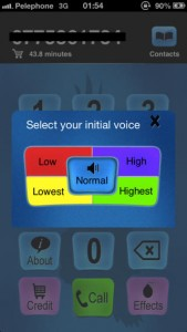 Get Fun Voices with Call Voice Changer-IntCall
