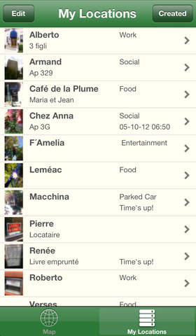 Photo Tracking App