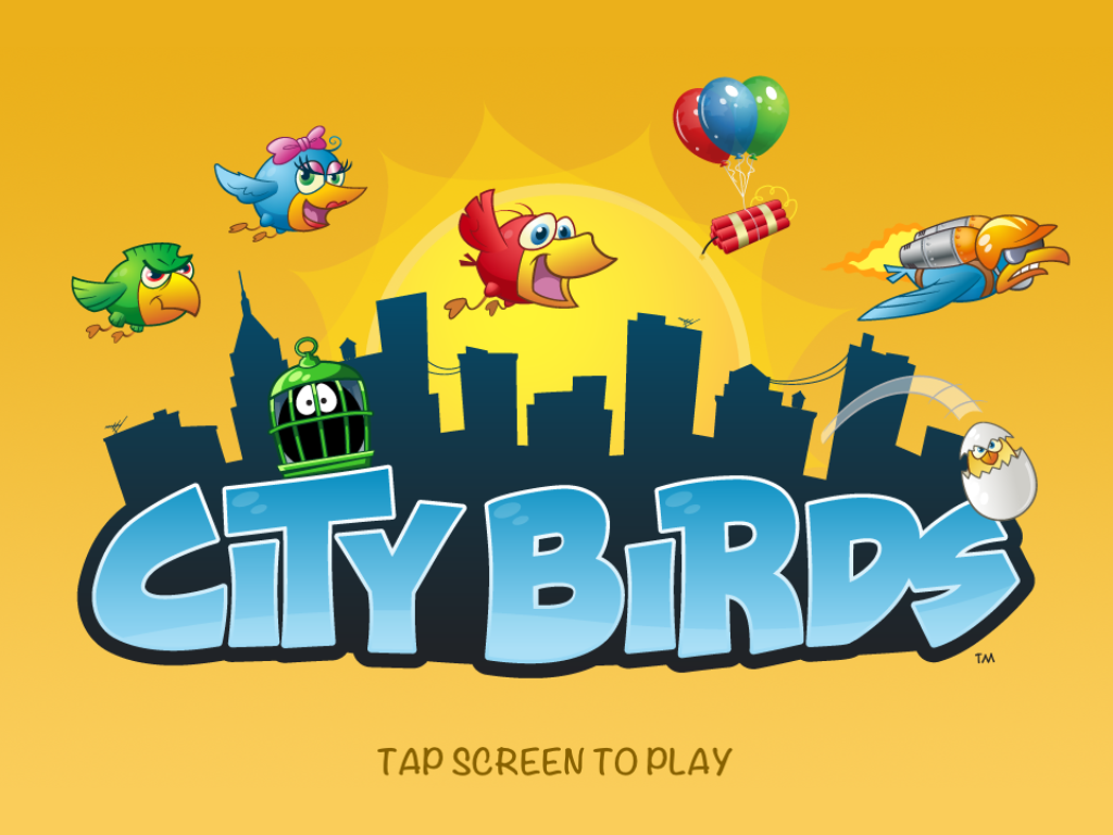 iPhone Birds Game