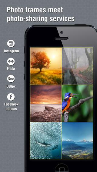 Instaframe iPhone App