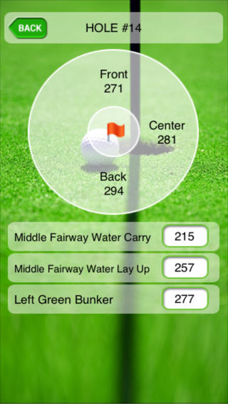 Golf App for iPhone